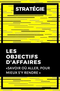 OBJECTIFS D'AFFAIRES